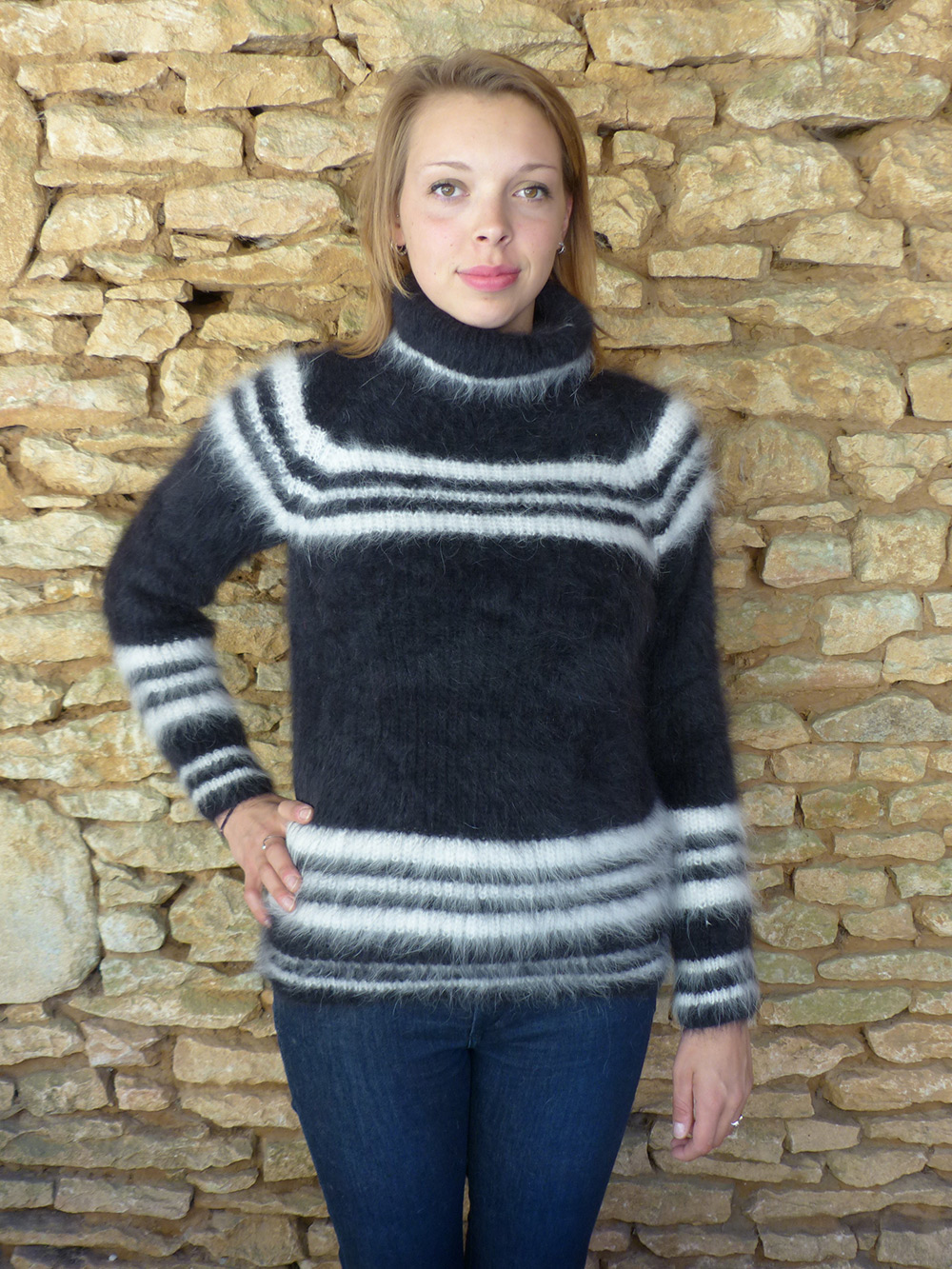 Vêtements en laine angora 100% made in France